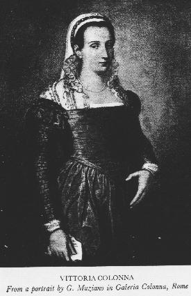 Muziano's portrait of Vittoria Colonna