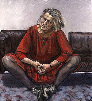 Germaine Greer (1995) by Paula Rego
