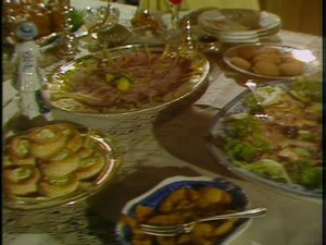 1979 Pride And Prejudice Party Spread At Mrs Philipss Get Together Where Elizabeth Has Her Intimate Conversation With Wickahm